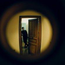 Gael García Bernal in una scena del film The Science of Sleep, 2005