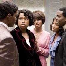Keith Robinson, Eddie Murphy, Beyoncé Knowles, Jennifer Hudson e Anika Noni Rose nel film Dreamgirls