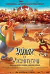 La locandina italiana di Asterix e i Vichinghi