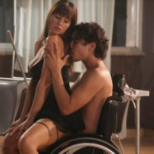 Riccardo Scamarcio e Monica Bellucci nella celebre scena hot di Manuale D'Amore 2