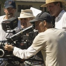 Phil Joanou sul set del film La gang di Gridiron
