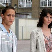 Rafi Gavron e Juliette Binoche in una scena di Complicità e sospetti