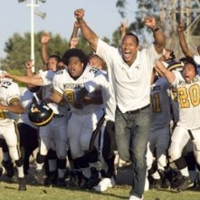 Dwayne Johnson in una immagine del film La gang di Gridiron