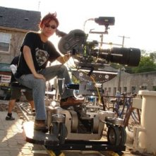 James Wan sul set del film Dead Silence