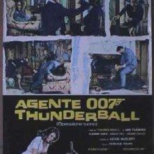 La locandina di Agente 007, operazione tuono