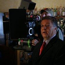 Renato Pozzetto sul sel del film Un amore su misura