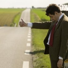 Rowan Atkinson in una scena del film Mr. Bean's Holiday