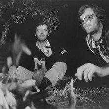 Jack Nicholson e Peter Fonda in una scena di Easy Rider