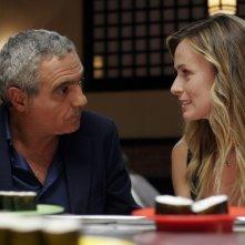 Serena Autieri e Giorgio Panariello in una immagine del film Notte prima degli esami - Oggi