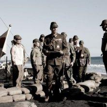 Ken Watanabe e Hiroshi Watanabe in una scena di 'Lettere da Iwo Jima'