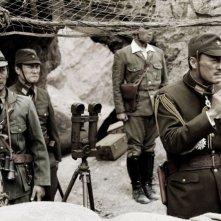 Ken Watanabe, Ken Kasai e Hiroshi Watanabe in una scena di 'Lettere da Iwo Jima'