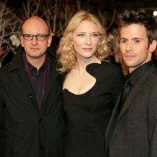 Steven Soderbergh, Cate Blanchett e Christian oliver a Berlino per 'Intrigo a Berlino