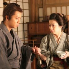 Takuya Kimura e Rei Dan in 'Love and Honor'