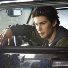 Chace Crawford in una scena del film The Covenant