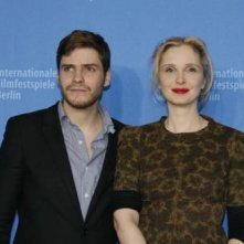 Daniel Bruhl e Julie Delpy a Berlino 2007 per presentare il film 2 Days in Paris