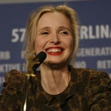 Julie Delpy a Berlino 2007 per presentare il film 2 Days in Paris