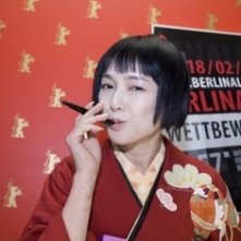 Kaori Momoi a Berlino 2007 per presentare il film Love and Honor