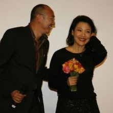 Tony Ayres e Joan Chen a Berlino 2007 per presentare il film The Home Song Stories