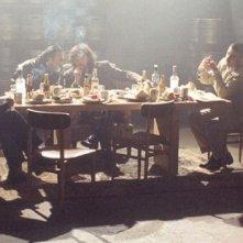 Una scena del film Hermano