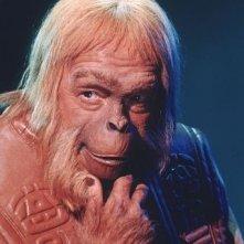 Maurice Evans in una scena de Il pianeta delle scimmie