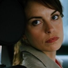 Nina Hoss in una scena del film Yella