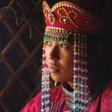 Yu Nan in una scena del film Il matrimonio di Tuya, del 2006
