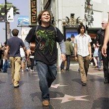 Jack Black in una scena di Tenacious D e il destino del rock