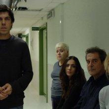Pierfrancesco Favino, Serra Yilmaz, Ambra Angiolini, Ennio Fantastichini e Margherita Buy in Saturno Contro