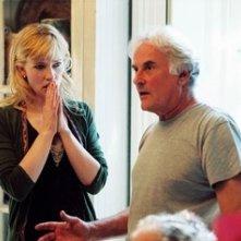 Cate Blanchett e Richard Eyre sul set del film Diario di uno scandalo