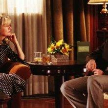 Diane Keaton e Gabriel Macht in una scena del film Perchè te lo dice mamma