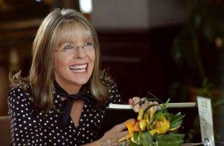 Diane Keaton in una scena della commedia Perchè te lo dice mamma