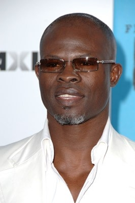 L'attore Djimon Hounsou sul Red Carpet degli Independent Spirit Awards 2007