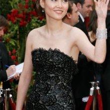 Rinko Kikuchi al tappeto rosso degli Oscar 2007