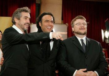 Alfonso Cuaron, Alejandro Gonzalez Inarritu e Guillermo del Toro agli Oscar 2007