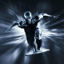 La locandina di I Fantastici 4 e Silver Surfer