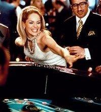 Sharon Stone in una scena di Casinò