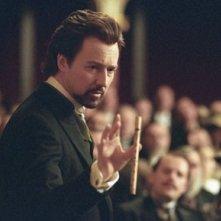 Edward Norton in una scena del film The Illusionist