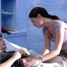Giovanna Mezzogiorno con Andrea Miglio Risi in una scena del film Lezioni di volo