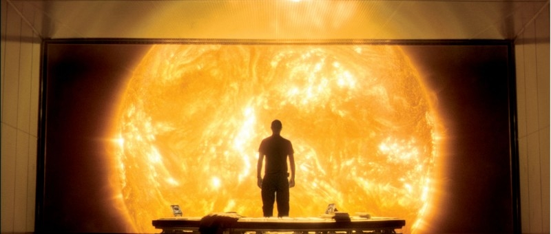 Una suggestiva scena del film Sunshine