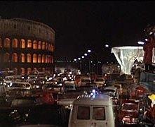 Una scena di ROMA di Federico Fellini (Italia/Francia, 1972)