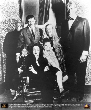 La locandina di La famiglia Addams