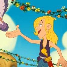 Una scena del film Asterix e i Vichinghi  (Astérix et les Vikings, 2006)