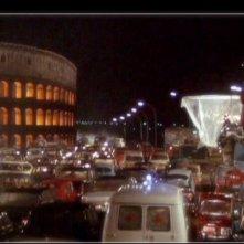 Una immagine del film Roma di Federico Fellini