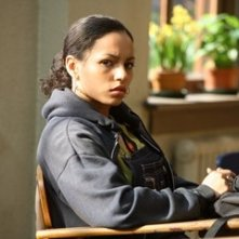 April Lee Hernandez in una scena del film Freedom Writers