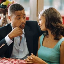 Cuba Gooding Jr. e Thandie Newton in una scena del film Norbit