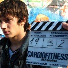 Federico Costantini sul set del film Cardiofitness