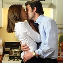 Hilary Swank e Patrick Dempsey in una scena del film Freedom Writers