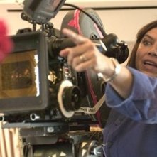 Mira Nair sul set di The Namesake