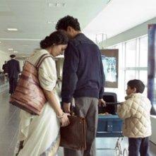 Tabu con Irrfan Khan in una scena del film The Namesake
