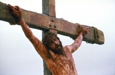 James Caviezel in La passione di Cristo